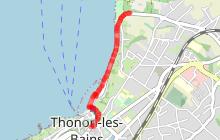 Circuit pédestre de Thonon les Bains