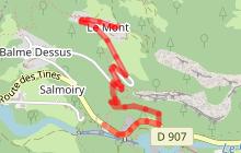 Balade vers le village du Mont