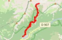 Randonnée à l'alpage et chalets de Salvadon