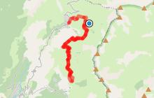 Circuit VTT n°8 Itinéraire du Lac du Loup