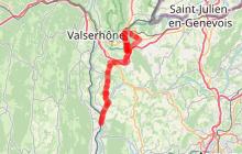 ViaRhôna - étape 10 - Vulbens > Seyssel
