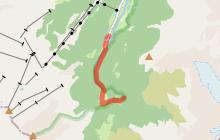 Randonnée pédestre : 14 - La cascade de Combe Noire