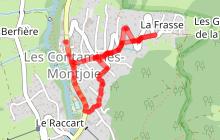Randonnée patrimoine : 2- Vers la Frasse, « un P'tou Joly tour »