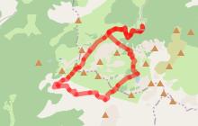 Tour du Roc de Tavaneuse par Savolaire, descente par le lac de Tavaneuse