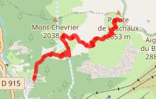 Rando N1 - Le  Col de Leschaux