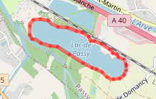 Tour du lac de Passy