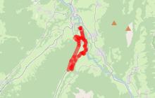 Boucle VTT de Lescheraines - Cascade du Pissieu