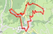 Boucle VTT de Lescheraines - Grotte de Prérouge et pont du diable