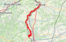 ViaRhôna 11 - St-Romain-en-Gal / Vienne > Sablons