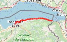 ViaRhôna TR1 - Lac Léman > Lyon
