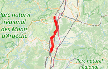 ViaRhôna 15 - Le Pouzin / Cruas > Châteauneuf-du-Rhône / Viviers