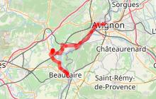ViaRhôna 19 - Avignon > Beaucaire