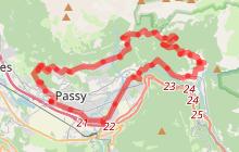Tour de Passy à Plaine-Joux par Servoz et le Plateau d'Assy