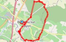 BEAULIEU SUR LAYON - De la Forêt au Layon