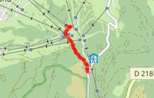 Itinéraire poussette du Mont-Lachat