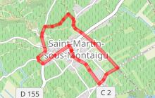 Saint Martin Sous Montaigu : SM2 Des premiers crus au village