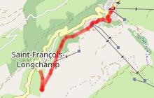 Circuit d'hiver Chemin de 1450m