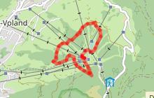 Parcours Trail - Lachat