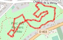 Boucle du parc des Rochers Gréau