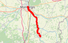 Eurovélo 3 La Scandibérique - étape Châtillon-Coligny/Montargis