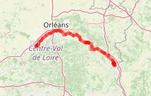Eurovélo 6 - La Loire à Vélo de Tavers à Beaulieu-sur-Loire