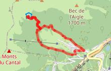 Parcours trail 34 - Font d'Alagnon Meije Coste