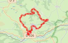 Parcours trail 4 - L'écir hivernal