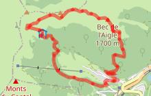 Parcours trail 30 - Bec de l'Aigle Meije Coste