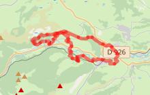 Parcours trail 5 - La Roche Percée