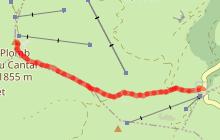 Parcours trail 18 - Verticale du Plomb du Cantal
