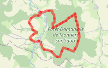 Montiers-sur-Saulx - Boucle de la Forêt Domaniale (long)