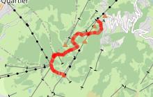 Chemin du Mont d'Arbois - Bettex