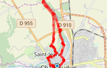 Randonnée du Bois des Gâts à Châteaudun