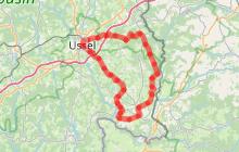 Circuit cyclo sportif Plateau bortois