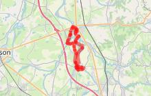 Craintilleux / Boisset-Les-Montrond - à la découverte des bords de Loire - attention chemin fermé temporairement