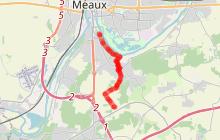 Randonnée - GR 1 Nanteuil-Lès-Meaux (tracé bleu)