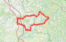 Circuit cyclo sportif Au Pays des Monédières