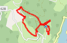 chemin de Tsaquarello + variante sentier de Payrac