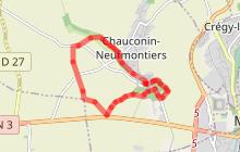 Randonnée - Chauconin-Neufmontiers (Boucle 4)