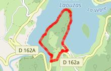 La presqu'île par le bord du lac