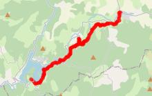 Chemin de St Jacques de Murat à Villelongue
