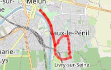 La promenade de Vaux