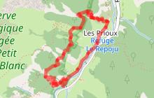 Rando B3 - Sentier du Lièvre aux Prioux
