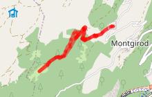 Sentier de l'eau de Montgirod