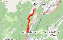 Sentier de St Marcel