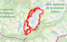 Randonnée Le Lac Blanc et Refuge de Plan du Lac - extension jusqu'à Entre deux Eaux