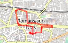 Parcours Balade  Romans au XIX -XX èmes siècles