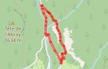 Itinéraire raquettes : Itinéraire du Blanchet