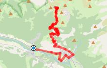 Route touristique du Col de Joux Plane