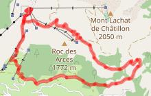 Tour du Roc des Arces par le Col de Châtillon